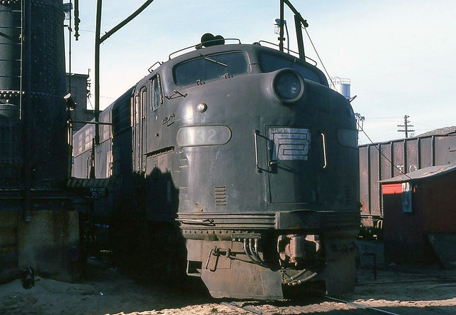 Conrail EMD E8A 4032