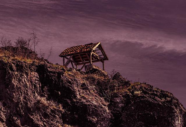 former hut