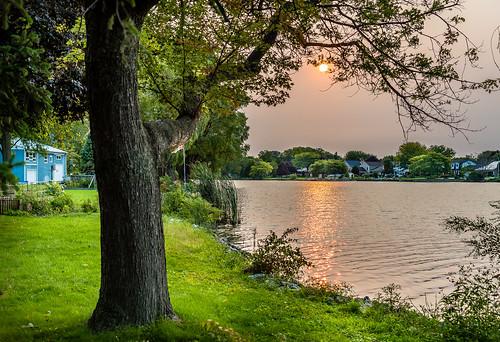 2020 canada canardriver ontario rivercanard september summer sunrise