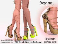 [StephaneL] BEATRICE SHOES FATPACK