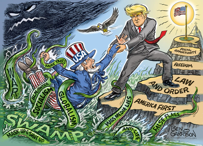 MAGA_vs_The-Swamp