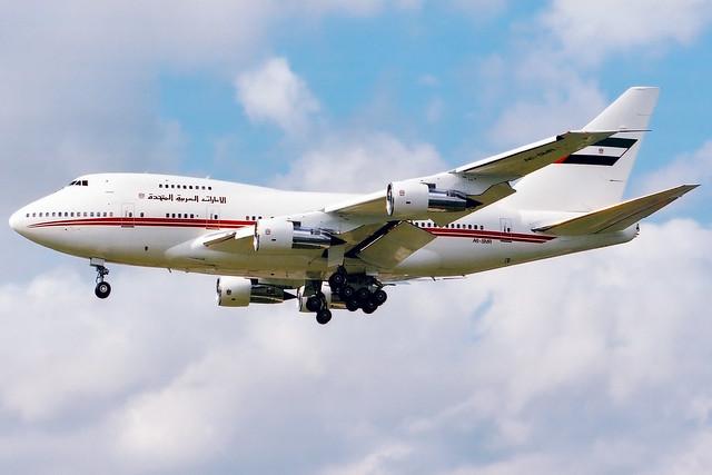 Dubai Air Wing | Boeing 747SP | A6-SMR | London Heathrow