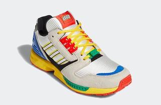 LEGO × adidas【ZX-8000】鞋款完整發表!將於9月25日發售