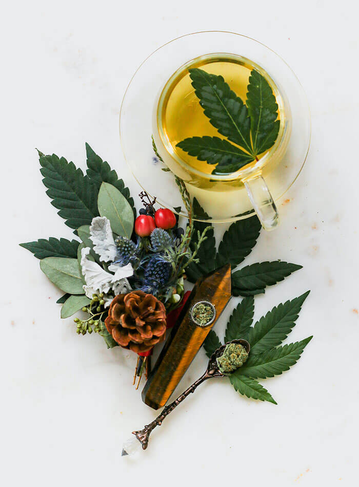CBD-Infused Herbal Tea