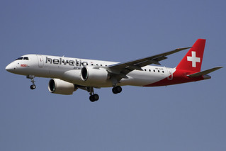 HB-AZE. EMB-190/E-2. Helvetic Airways. PMI.