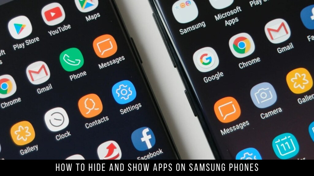 How to Hide and Show Apps on Samsung Phones