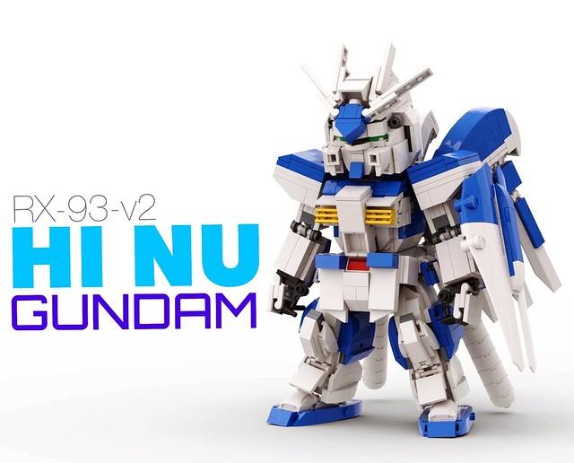 [LEGO] RX-93-v2 Hi Nu Gundam