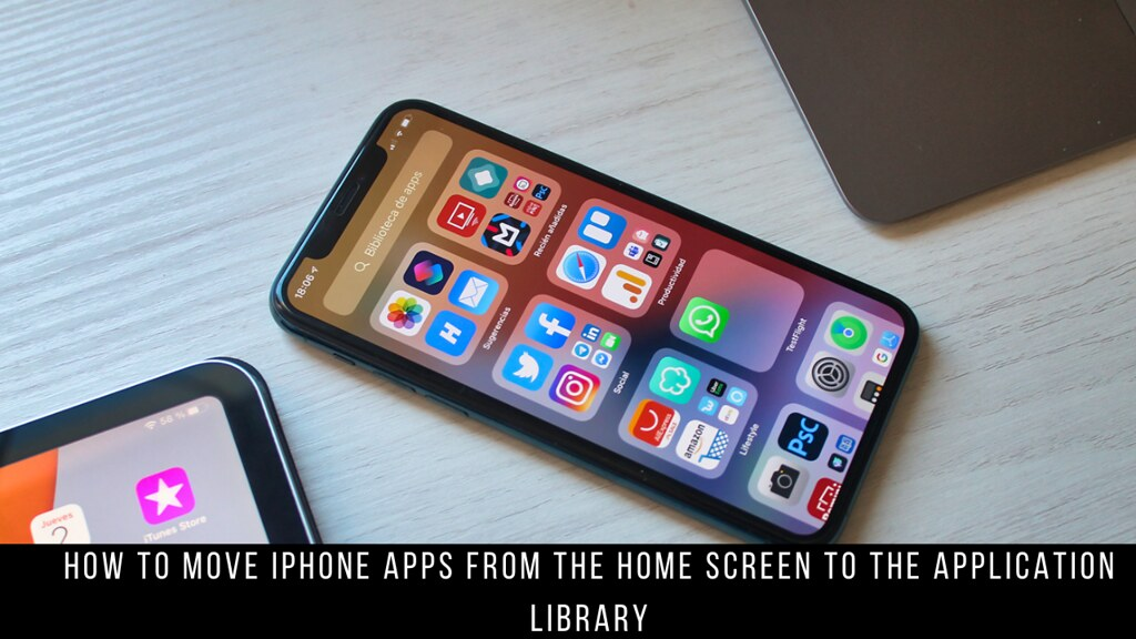 How to Move iPhone Apps From the Home Screen to the Application Library