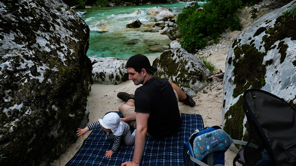 Soca River, Julian Alps, Slovenia