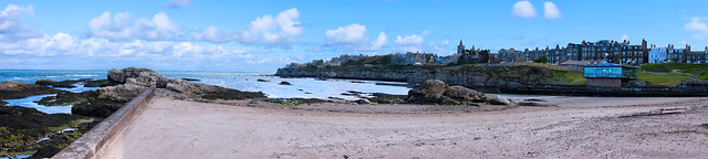 St Andrews, Little Beach Panorama