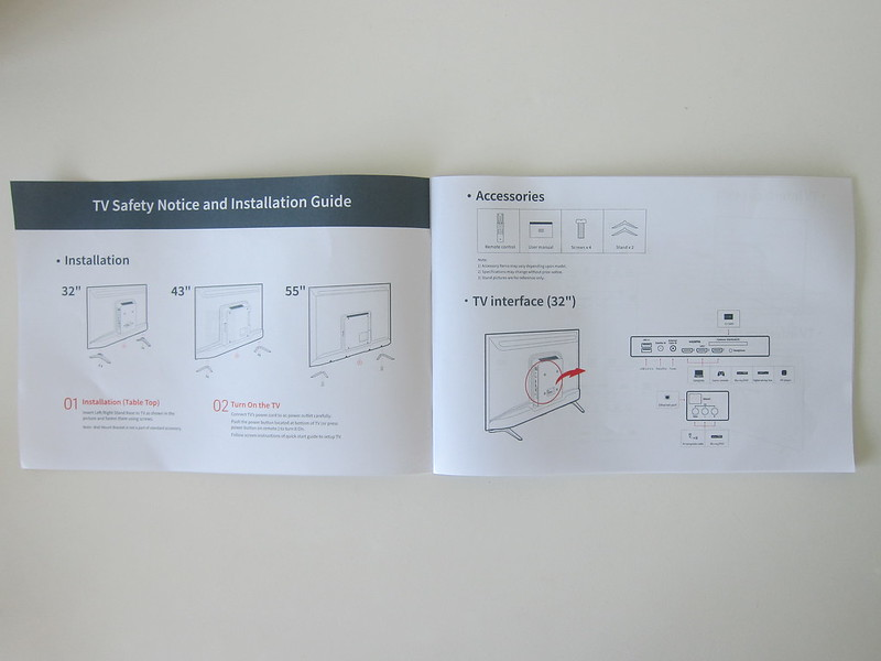 Xiaomi Mi LED TV 4S 55 - Instructions #1