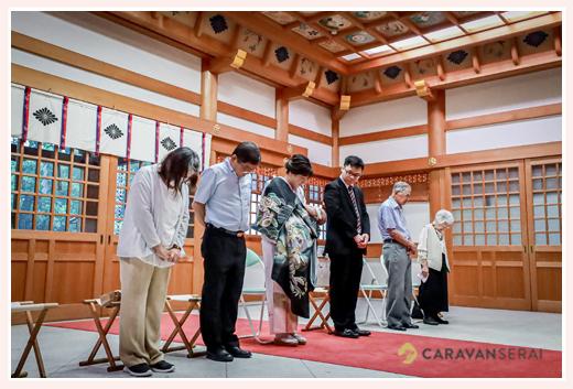 川原神社 ご祈祷シーン 名古屋市昭和区