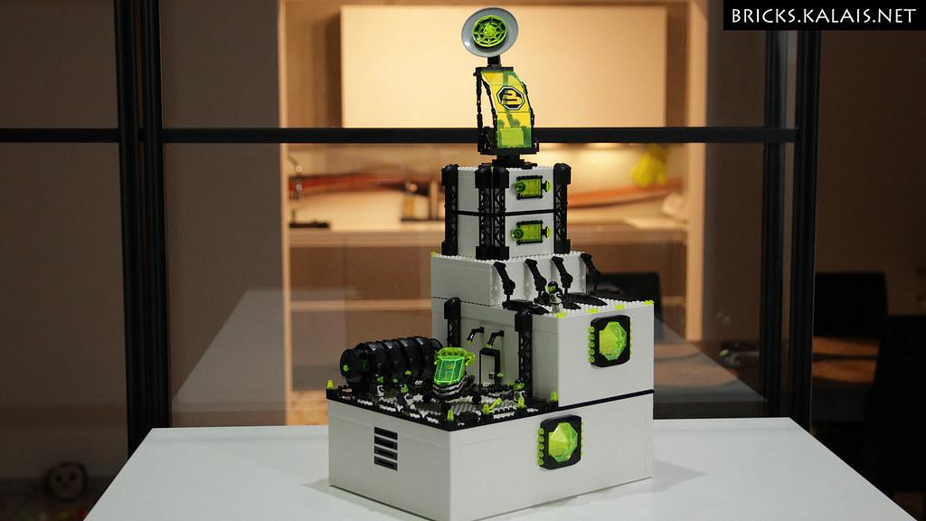 [MOC] Ikea BYGGLEK Blacktron base