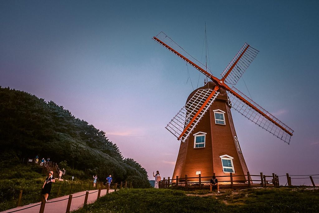 Windy Hill Windmill in Geoje Island