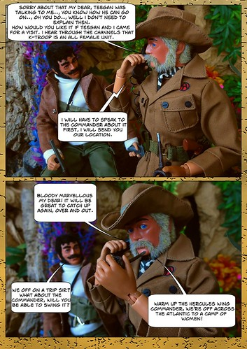 Lord Conan J. Roxton in - Wrong Number (7) | by Blondeactionman