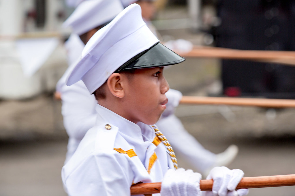 Young Man in the Parade _1501