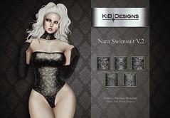 KiB Designs - Nara Swimsuit v.2 @101L Event