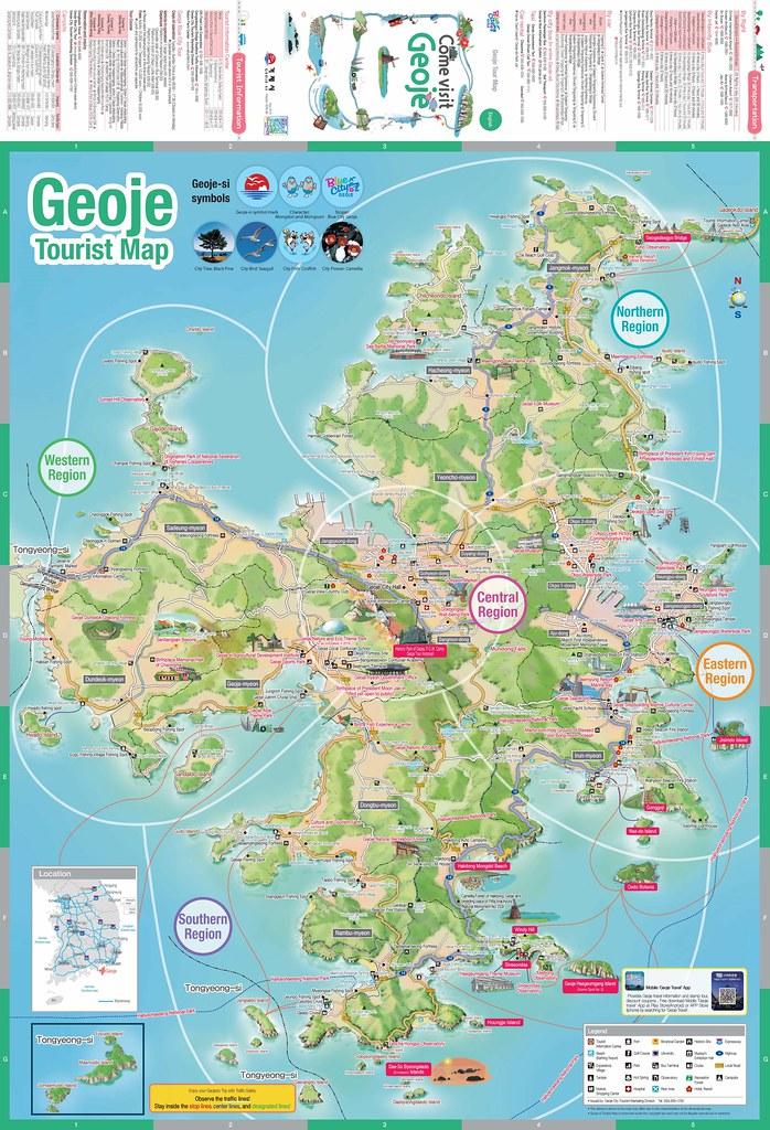 Geoje South Korea Map - Geoje Tourism