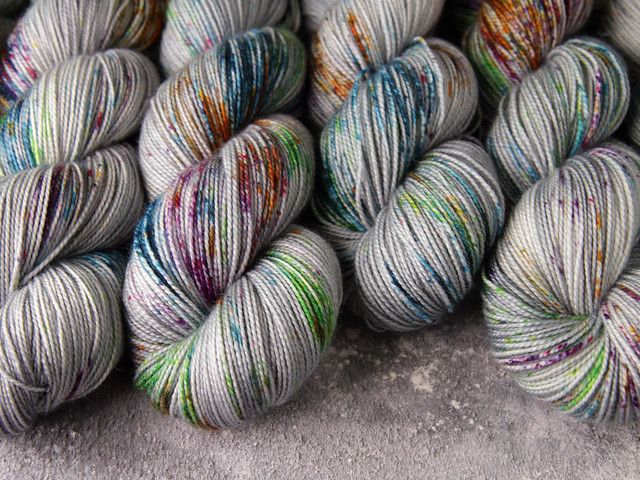 Favourite Sock -Pure Merino Wool superwash hand dyed yarn 4 ply/fingering 100g – 'Ore'