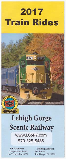 Lehigh Gorge Scenic Railway Cover