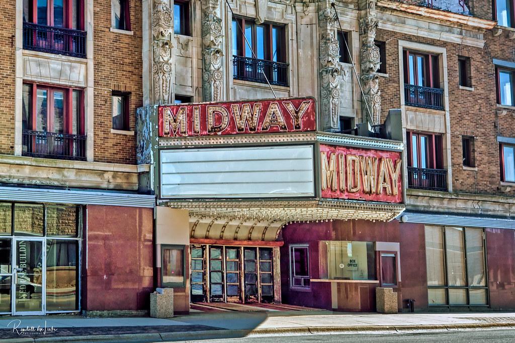 Midway Theater, Rockford, Illinois (1 of 2)