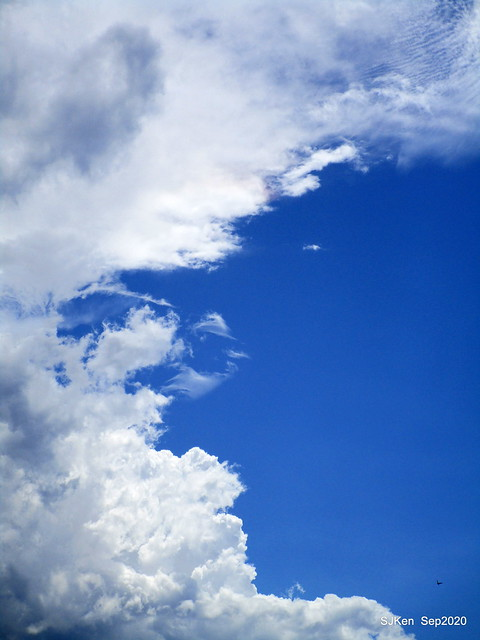Cloud scenery of Taipei sky, Sep 17, 2020, SJKen