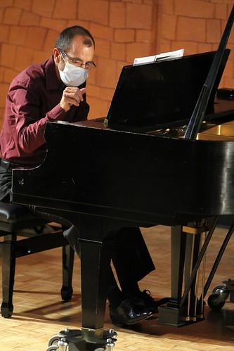"""ANTÓNIO CORTEZ MARQUES, VIOLONCELLO & HELDER MARQUES, PIANO - 33 FESTIVAL DE MÚSICA ESPAÑOLA - AUDITORIO """"ÁNGEL BARJA"""" DEL CONSERVATORIO DE LEÓN 16.09.2020"""