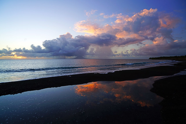 Twilight is coming, Sandy Point, St Kitts