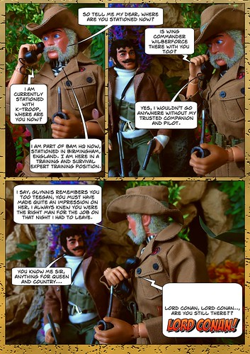 Lord Conan J. Roxton in - Wrong Number (5) | by Blondeactionman