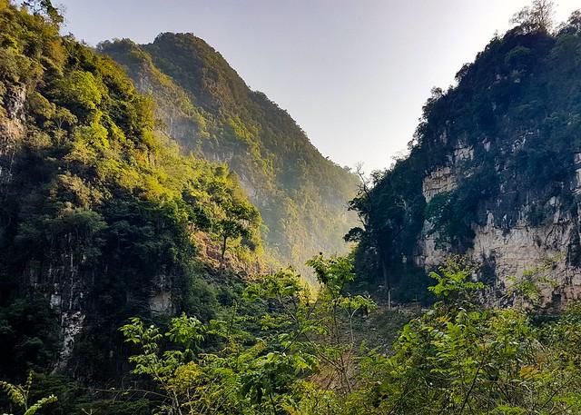 Mountain tops along the Ha Giang Loop, Northern Vietnam