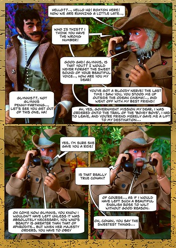 Lord Conan J. Roxton in - Wrong Number (4) | by Blondeactionman