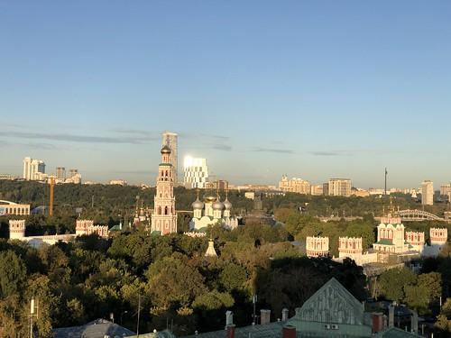 Начало осени в Москве