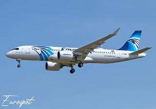 C-FOWF Airbus A220-300 Egyptair
