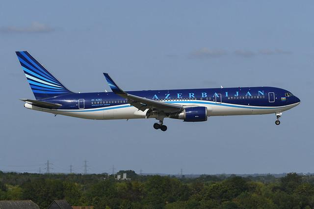4K-AZ82 Boeing B767-32L(ER) EGLL 17-09-20