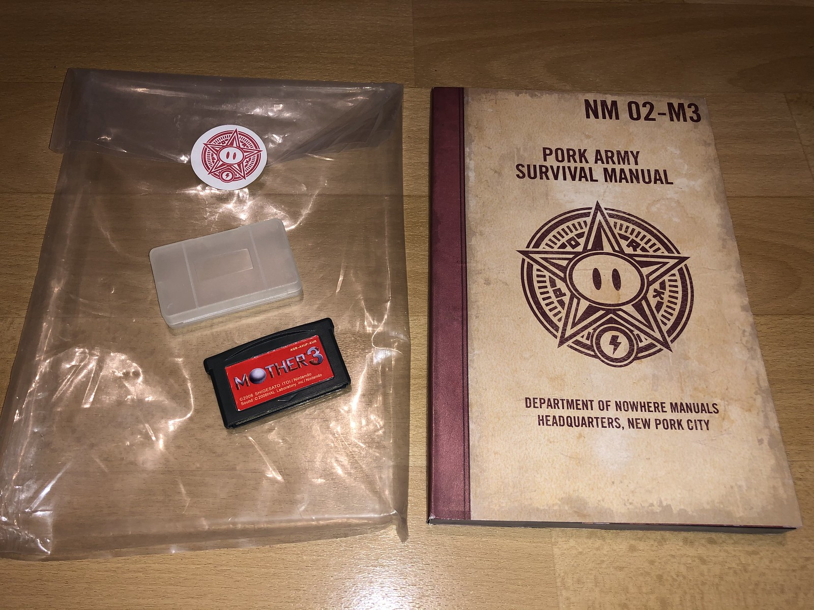 [VDS] GBA : Mother 3 + Handbook : A Guide to Nowhere 50352953241_66502f028b_h
