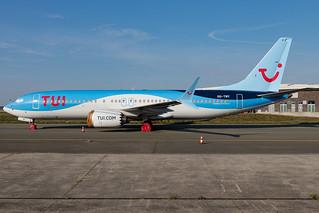 TUI Airlines Belgium - Boeing 737 Max8 - MSN 44592 - OO-TMY