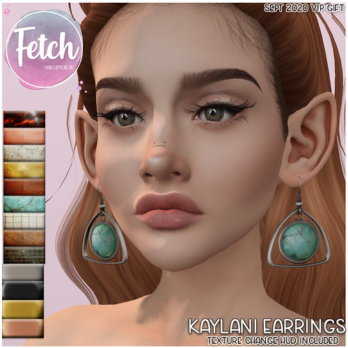 [Fetch] Kaylani Earrings @ Sept 2020 VIP GIFT!