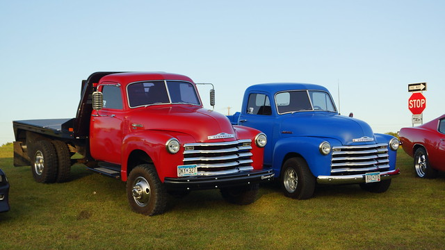1949 & 1951 Chevrolet Flat Bed Truck