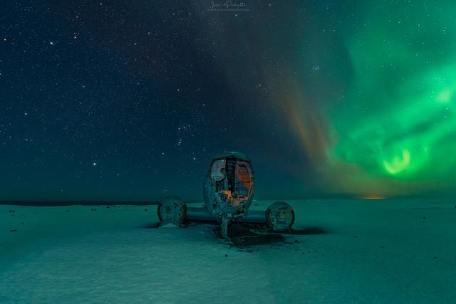 Iceland wreck