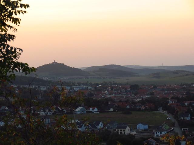 Sonnenuntergang über Arnstadt