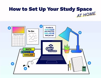 Thumbnail preview of How to Set Up Your Study Space at Home