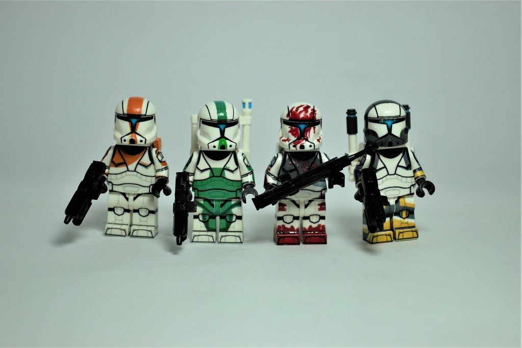Lego Custom Delta Squad Star Wars Minifigure UV Printed