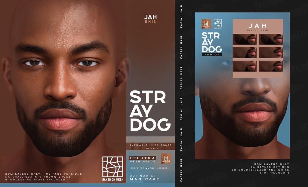 Stray Dog Jah Skin & Facial Hair - MAN CAVE