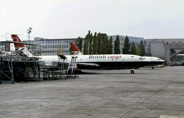 G-ASZF & G-ASZG British Airways Cargo Boeing 707s withdrawn at London Heathrow