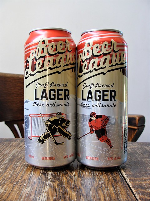 Beer League Craft Brewed Lager