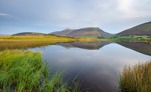 Tewet tarn reflection 2 | by Alf Branch
