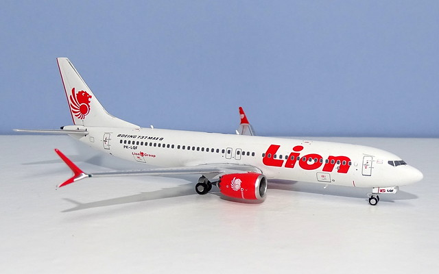 Lion Air Boeing 737-8 MAX PK-LQF