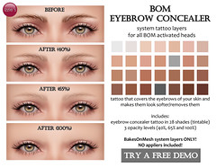 BOM Eyebrow Concealer (for FLF)