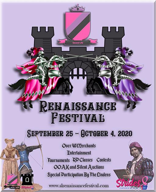 SL Renaissance Festival Sept 25-Oct 4