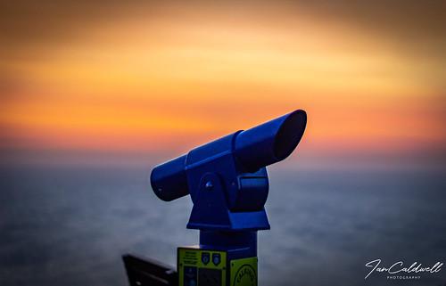 ian caldwell sunset portland dorset photography